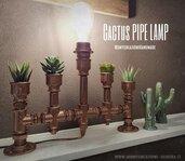 Lampada porta cactus