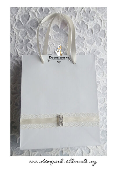 WEDDING BAG - sacchettini per sposi