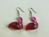 Orecchini Fenicottero Flamingo Earrings 2