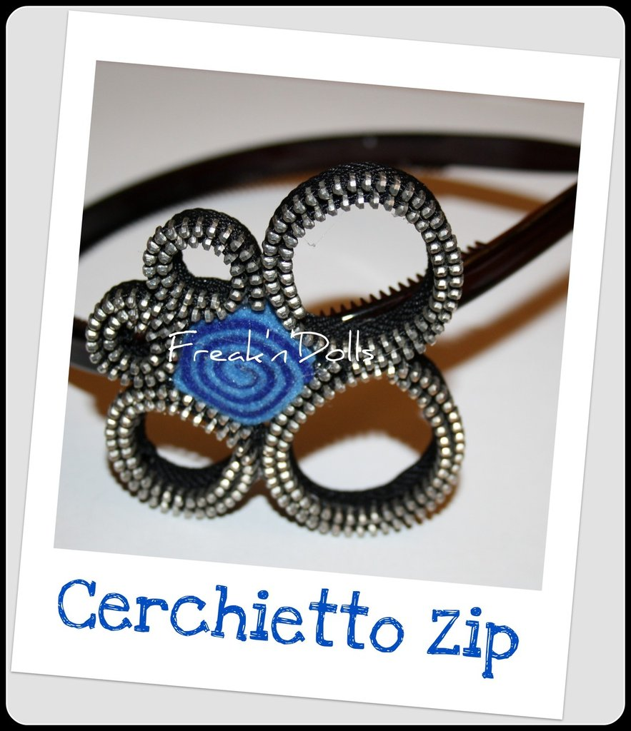 Cerchietto Zip