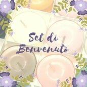 Set di Benvenuto in cera di soia