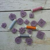 Bottoni in cera di soia
