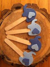 Segnalibro elefanti crepla