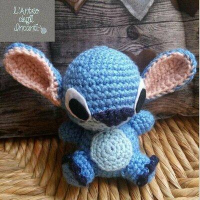 Amigurumi pupazzetto Stitch
