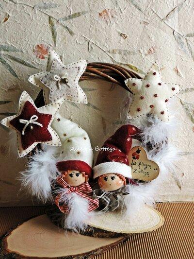Ghirlanda elfi della neve