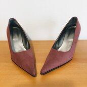 Scarpe eleganti decoltè - scarpe rosa . scarpe da collezione