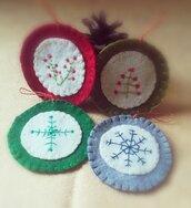 Set decorazioni Natale nordico