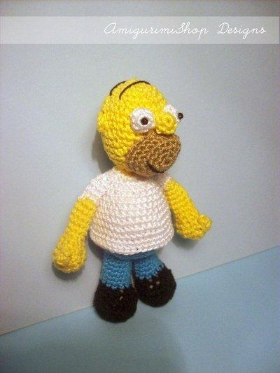 Homer Simpson Pattern
