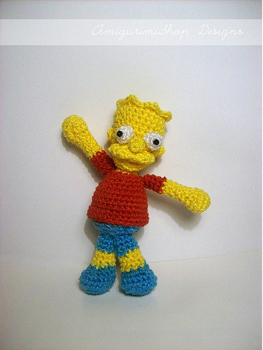 Bart Simpson Pattern