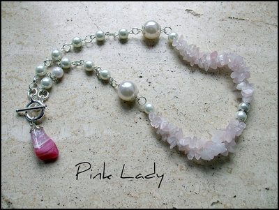 Collana ''Pink Lady''