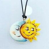 Ciondolo Sole Luna
