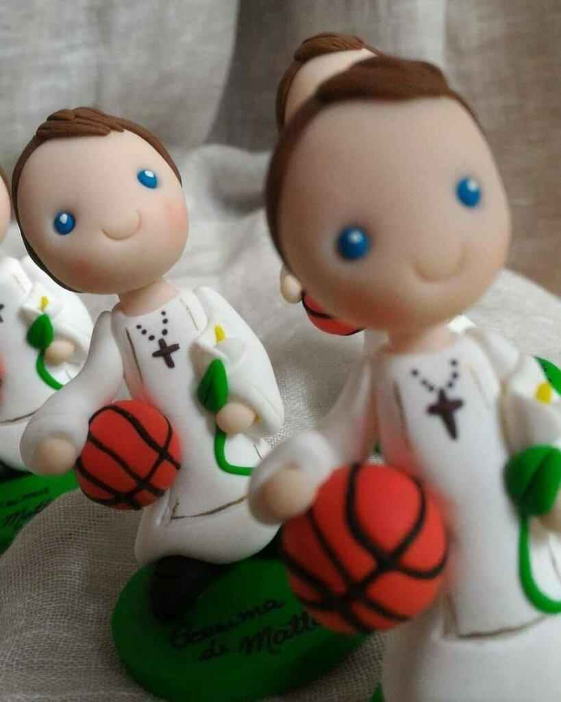 Bomboniera Comunione basket- pallacanestro