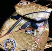 Borsa/Zainetto seta elegante in tessuto di Obi (fascia del kimono) [Farfalla colore oro]