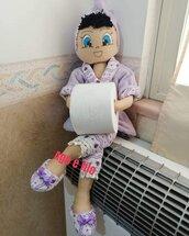 Papel Doll bambola per il bagno