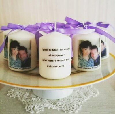 Candela Anniversario Di Matrimonio