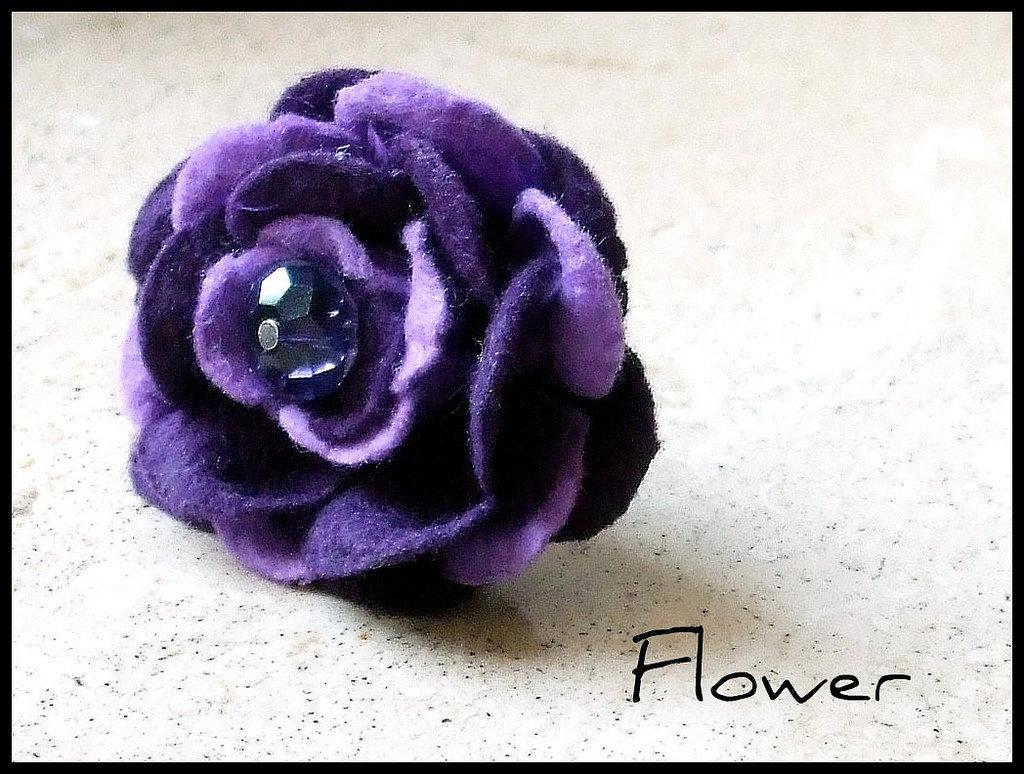 Anello ''Flower''