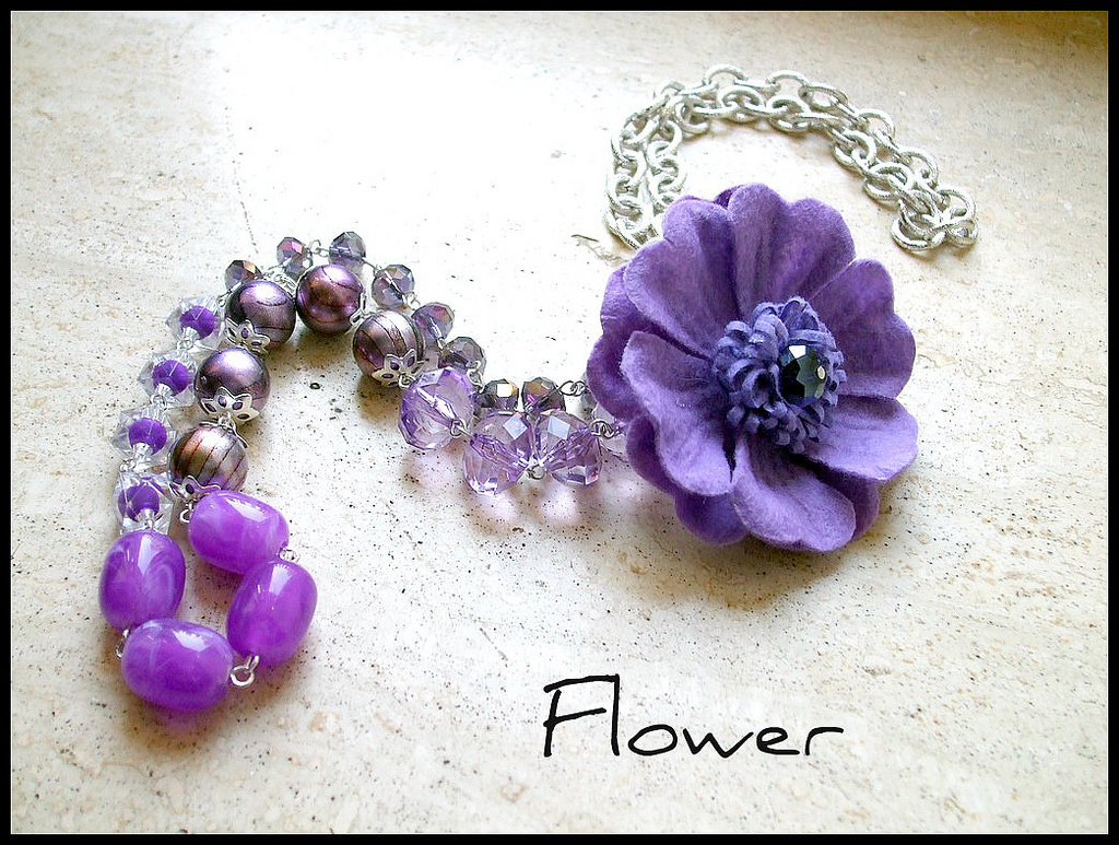 Collana ''Flower''
