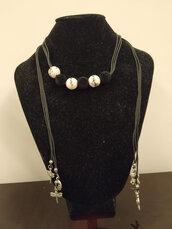 collana con perle giapponesi