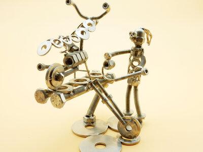meccanico moto meccanico arte meccanico  scultura meccanico officina moto harley davison  officina  moto harley Art metal Metal sculpture