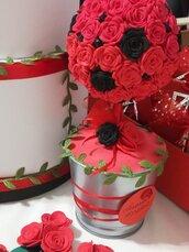 Topiaries Vaso decorazione Centro tavola Addobbi Allestimenti feste eventi Fiori Rose