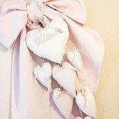 Fiocco Nascita Sweet Baby rosa