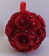 Pallina rose rosse