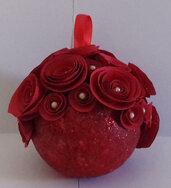 Palline rose rosse