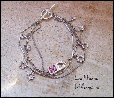 Bracciale ''Lettere D'Amore''