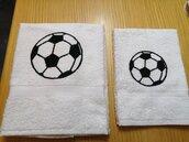 Asciugamani squadra di calcio