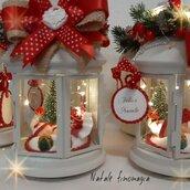 Lanterna personalizzata Natale