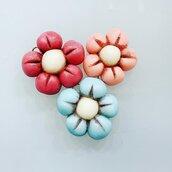 Ciondolo Fiorellino Colorato