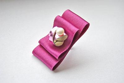 Anello La Bambola di Porcellana (fucsia)