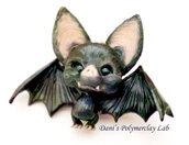 Collanina con pipistrello