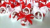 Regali di natale - Bomboniere Natale - bomboniere natalizie - battesimo natale - matrimonio natale - matrimonio invernale