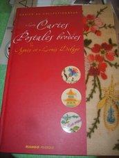 Libro su cartoline postali in francese