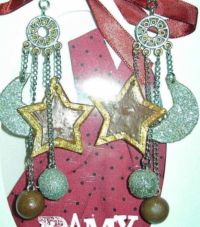 orecchini stelle