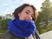 Scaldacollo, sciarpa, donna in lana