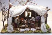 PRESEPIO IN STILE ORIENTALE - Natale - Addobbi