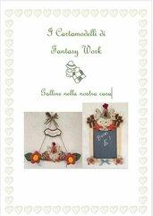 Cartamodello Galline nella nostra casa  - versione PDF