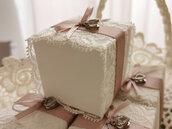 Scatola confetti piccola per matrimonio e nascita