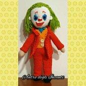 Amigurumi bambola Joker
