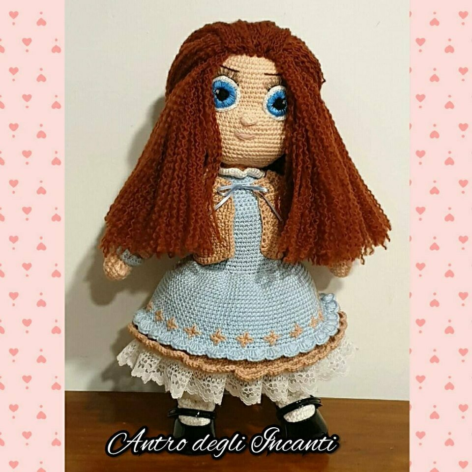Bambola amigurumi Charlotte