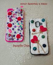 Cover per cellulari decorate a mano ❤