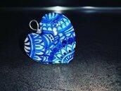 Ciondolo Cuore Blu