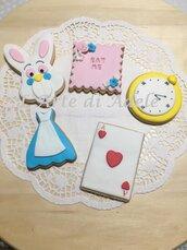 Biscotti decorati Alice