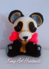 Panda amigurumi schema
