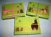 Idea Regalo! Mini Album PortaAppunti - Lama^^