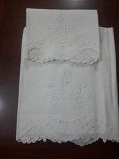 Asciugamano in lino