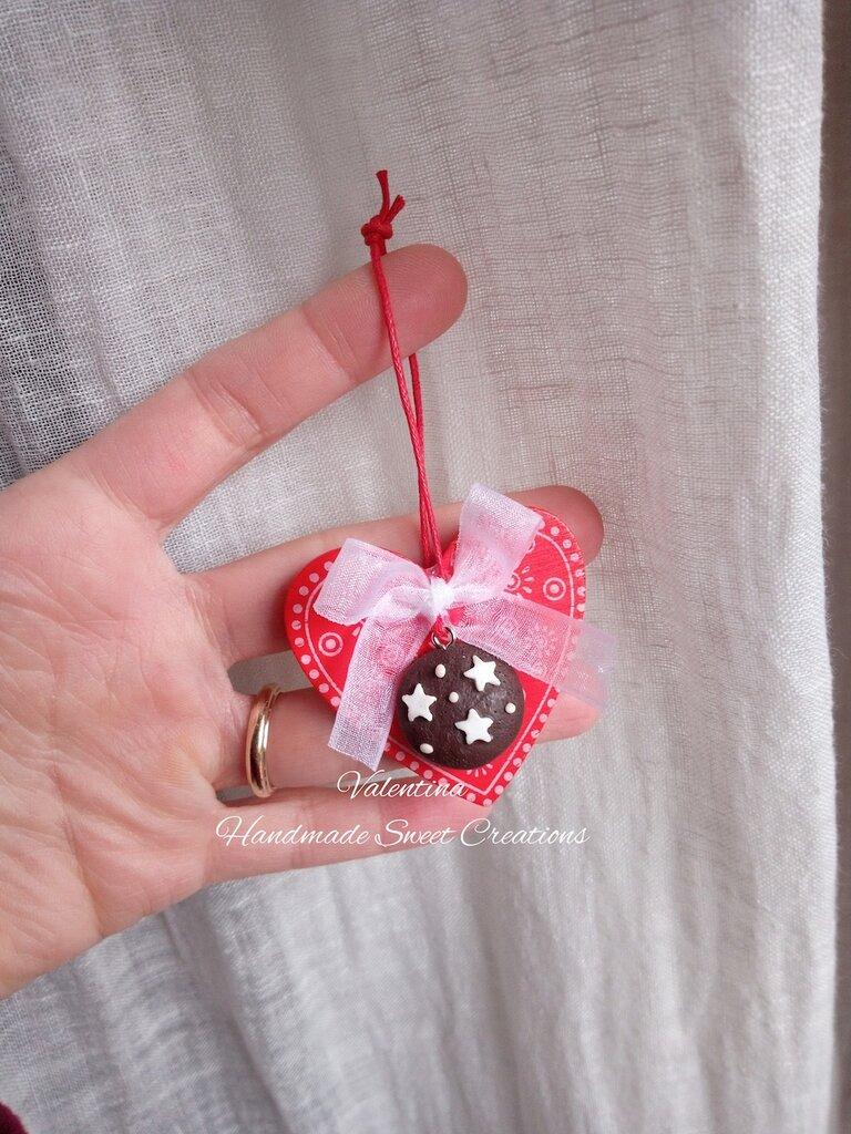 Decorazioni natalizie- tag chiudipacco segnaposto Natale