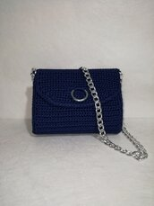 Pochette borsa tracolla moda borse online donna cerimonia misshobby.com crochet